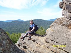 Rock Climbing Photo: A real Mountain Women.