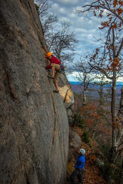 Rock Climbing Photo: Onsight of Firecracker