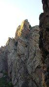 Rock Climbing Photo: Eldorado Springs Oct 5th 2014.