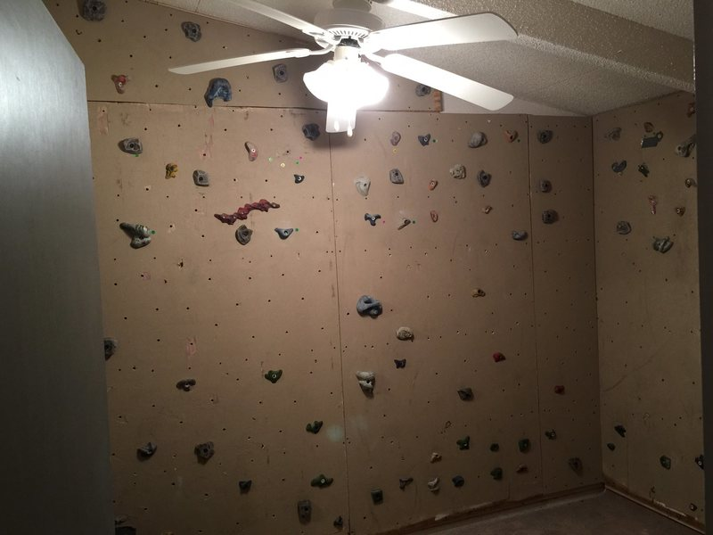 Rock Climbing Photo: Home Wall