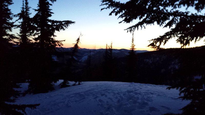 Stevens Peak 5am