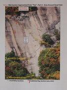 "Rock Climbing Photo: Mid-Section / ""Toe area"" / Rhino Skin to..."