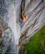 Rock Climbing Photo: What to do when you have nothing larger than a #2 ...