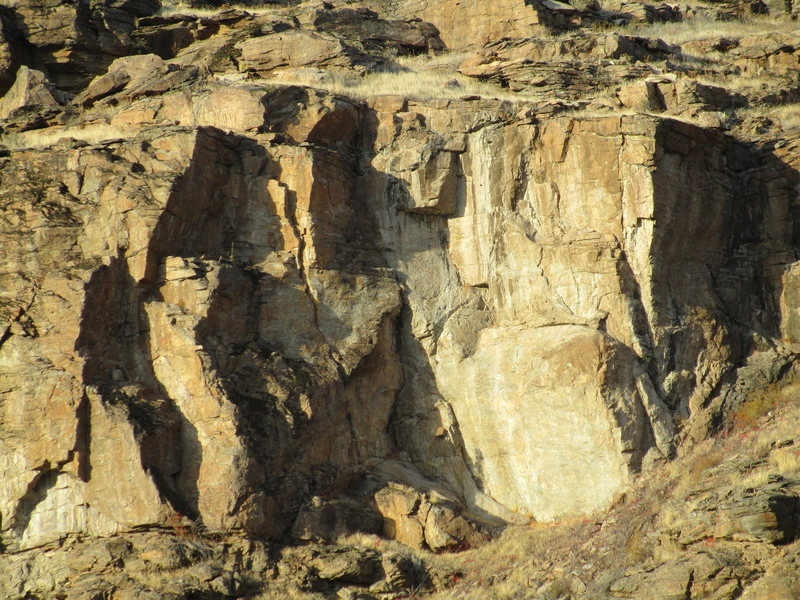 """Rock Climbing Photo: """"Right Side"""" of the Main face"""