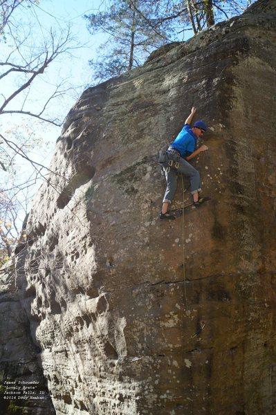 Rock Climbing Photo: James
