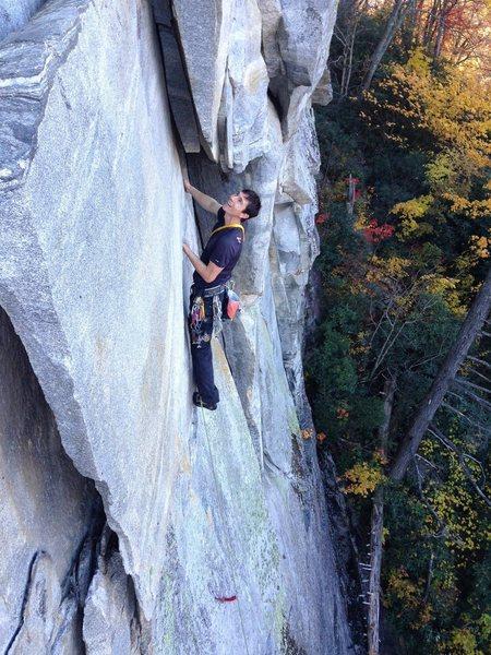 Rock Climbing Photo: The Guillotine
