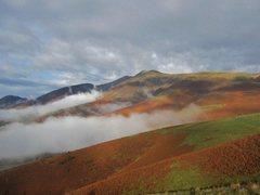 Rock Climbing Photo: Skiddaw Mt . English Lake District