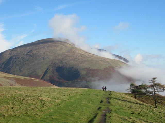 Blencathra Mt English Lake District