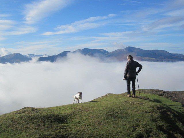 Rock Climbing Photo: Looking West from Latrigg. English Lake District