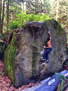 Rock Climbing Photo: Tall guy beta. Settle into the right hand gaston/ ...