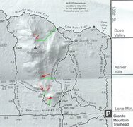 Rock Climbing Photo: Trail map to crags