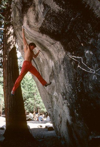 Rock Climbing Photo: Vandalism!!