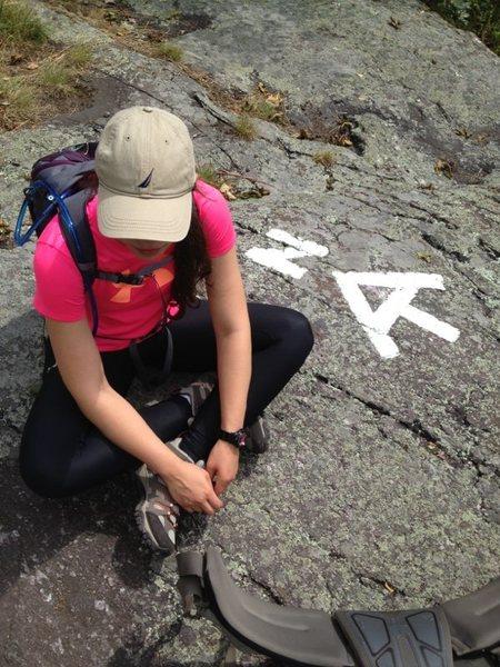 Rock Climbing Photo: AT