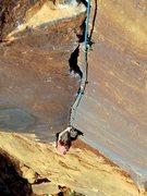 Rock Climbing Photo: Tom jamming for Jah