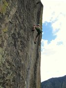 Rock Climbing Photo: Redpointing an outstanding pitch. Photo by Tom Mic...