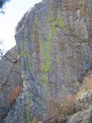 "Rock Climbing Photo: The ""Mildage Wall"" above Primo.  Portrai..."
