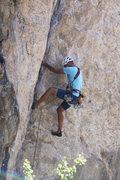 Rock Climbing Photo: Good fun on p1 of Cryo.
