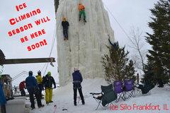 Rock Climbing Photo: Ice soon