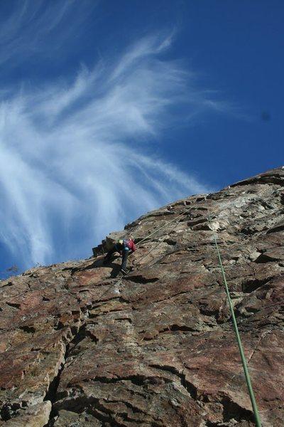 Rock Climbing Photo: Great climb. Beautiful quart. 5.7****