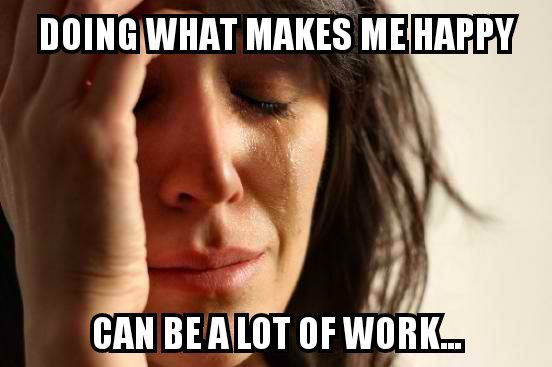 Rock Climbing Photo: First world problems...