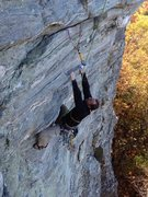 Rock Climbing Photo: Dennis having a blast on Spidey.