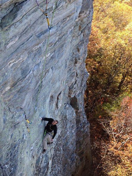 Rock Climbing Photo: I got the jug. Damn, this is fun!
