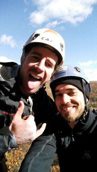Rock Climbing Photo: With The Stoned Master