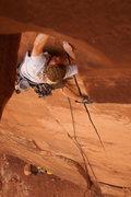 Rock Climbing Photo: Ben Riley switching cracks on 5/15/37