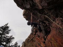 Rock Climbing Photo: Danny.