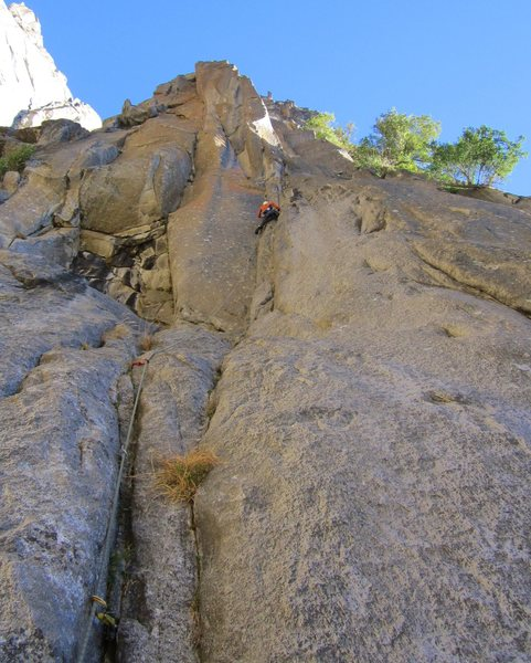 Looking up Pitch 1
