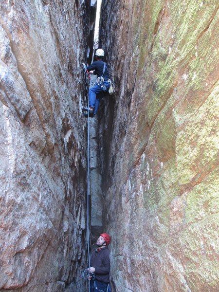 Rock Climbing Photo: Conor's Corridor 5.5