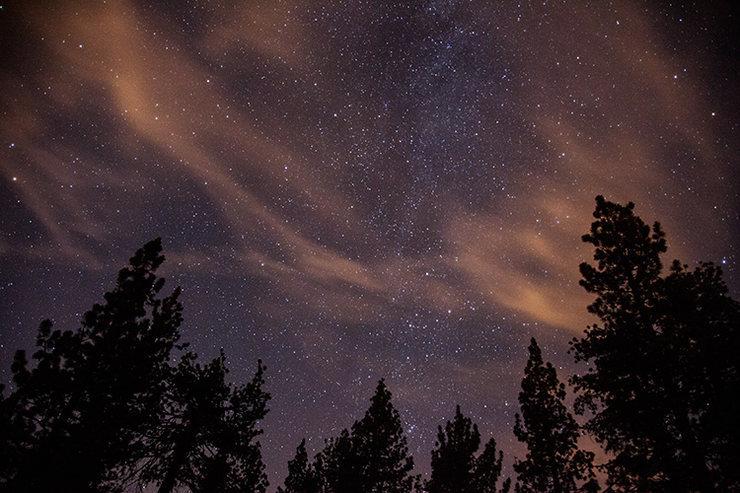 Holcomb Valley Pinnacles Starlight