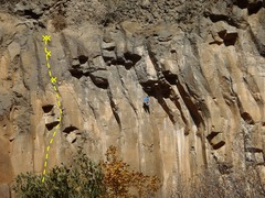 Rock Climbing Photo: Topo Photo of FIE