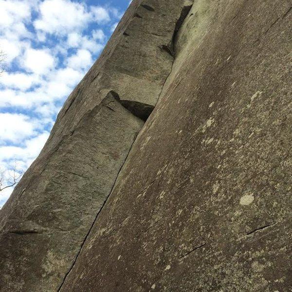 Rock Climbing Photo: looking glass