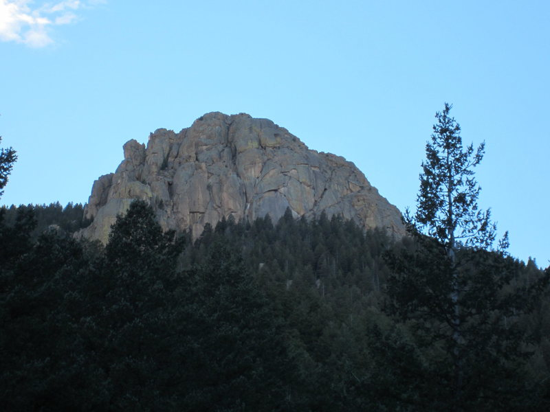 Rock Climbing Photo: Sentinel Rock from High Drive.