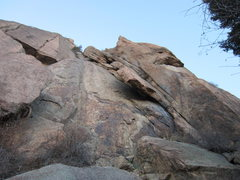 Rock Climbing Photo: The Wing formation on Sentinel Rock.