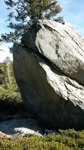 Rock Climbing Photo: The Mediocre boulder.
