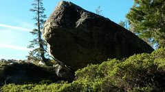 Rock Climbing Photo: The backside of Pan B maybe has some future projec...