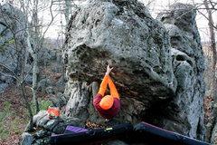 Rock Climbing Photo: In the Hueco's