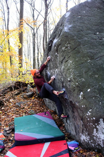 Getting into the business of the climb