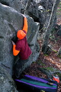 Rock Climbing Photo: moving on up to the slopers