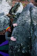 Rock Climbing Photo: Slopers!!!