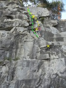 Rock Climbing Photo: For demonstration only. Please do not trad climb.