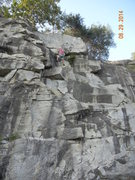 Rock Climbing Photo: It might be hard to see the placements but here ar...