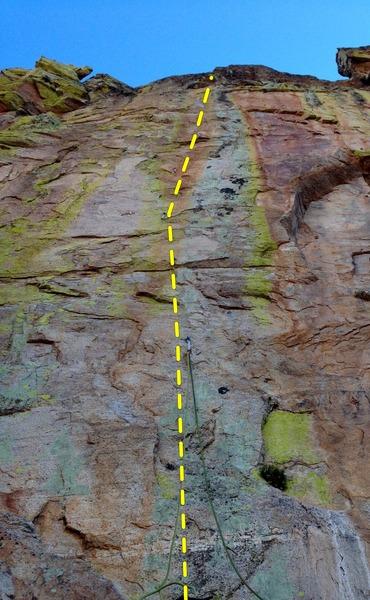 Rock Climbing Photo: Rain