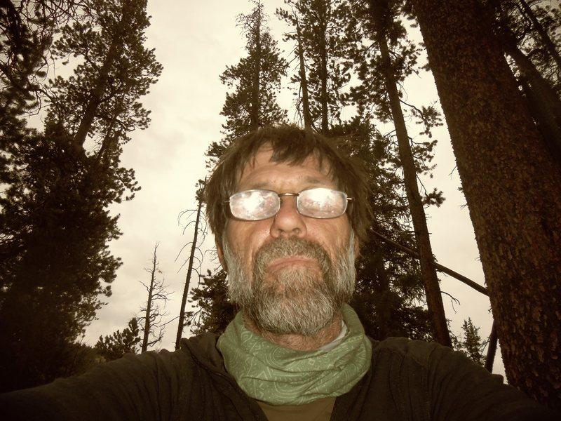 Rock Climbing Photo: selfie