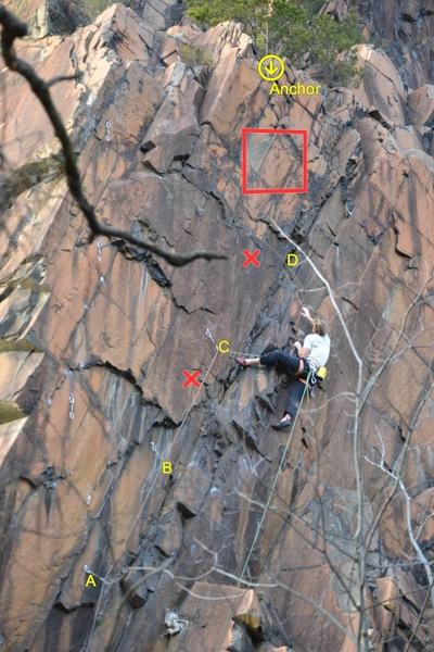Rock Climbing Photo: Shylo Killing Devil's Cut