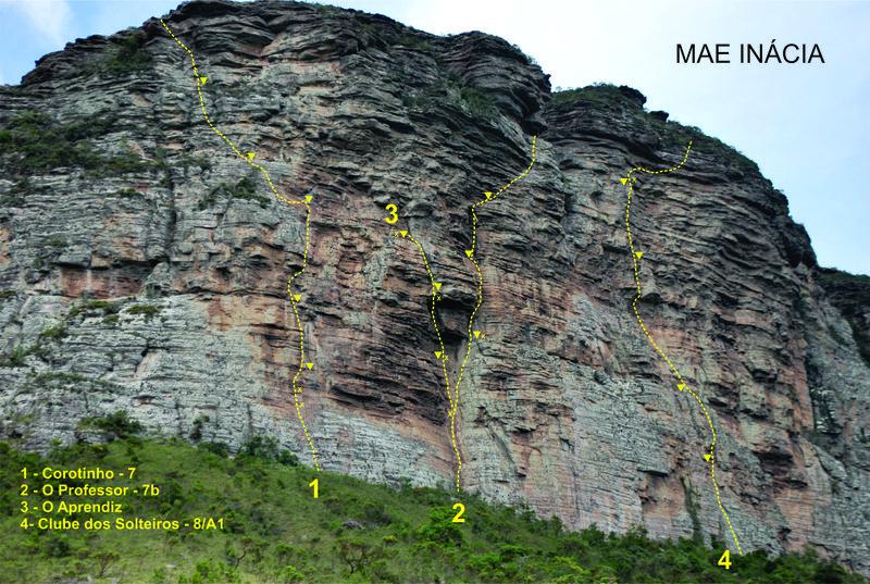 Rock Climbing Photo: Corotinho e Aprendiz - Mãe Inácia