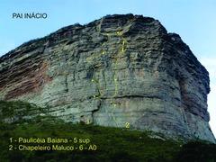 Rock Climbing Photo: Variante -fendinha após da 3ª cordada