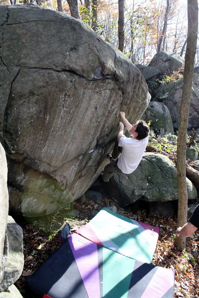 Rock Climbing Photo: The start position